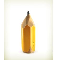 HB graphite pencil icon vector image
