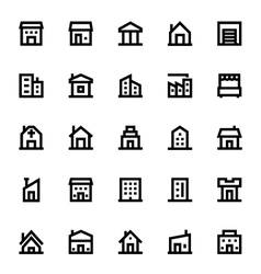 City elements icons 1 vector