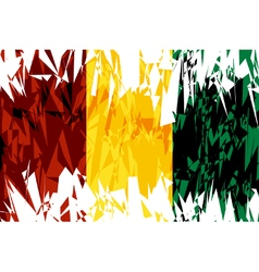Flag of Guinea vector image