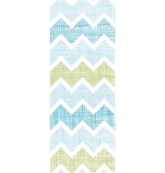Fabric textured chevron stripes vertical seamless vector image