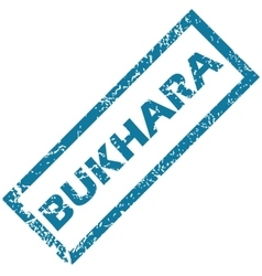 Bukharia rubber stamp vector