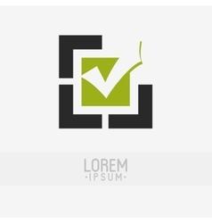 Custom logo design vector