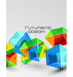 Futuristic design vector