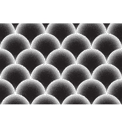 Retro dotwork texture background vector