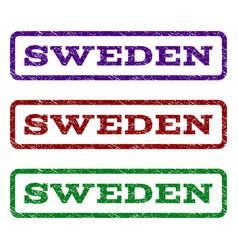 Sweden watermark stamp vector