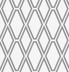 Perforated vertical diamonds vector