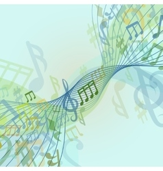 Abstract conceptual classic musical background vector