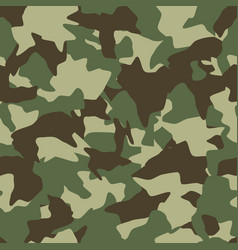 camouflage seamless pattern green brown olive vector image