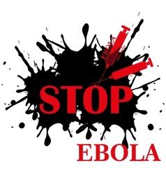 Ebola virus stop vector