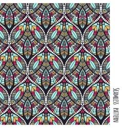 Ethnic aztec pattern vector image vector image