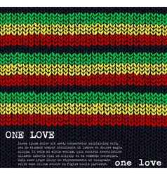 One Love vector image vector image