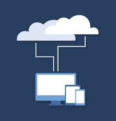Cloud technology2 vector