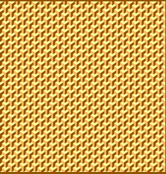Golden seamless texture geometric patterned vector