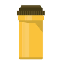 Medical bottle pills pharmacy vector