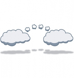 cloudtocloud computing vector image