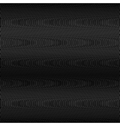 Wave Black Line Background vector image