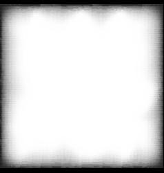 halftone grunge pop art frame vector image vector image