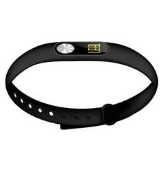 Modern sport fitness tracker vector