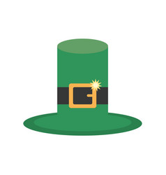 St patricks day hat icon vector