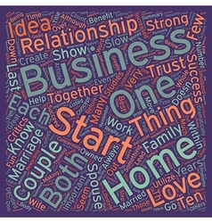 How to start a successful home business with your vector