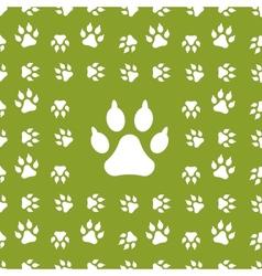 dog background vector image