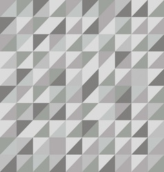 Retro triangle pattern with gray background vector