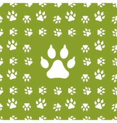 dog background vector image
