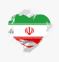 flag of iran vector image
