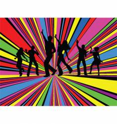 party people vector image vector image