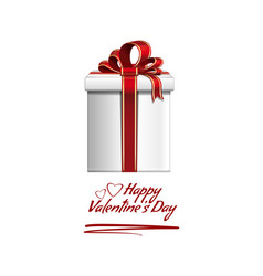 romantic design for valentines day vector image vector image