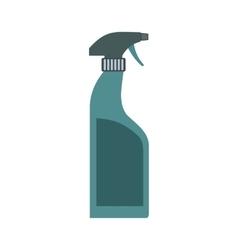 Sprayer bottle flat vector