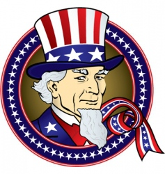 Uncle sam vector