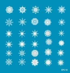 Snow fake vector