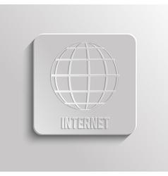 Worldnet the Internet vector image vector image