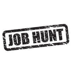job hunt vector image