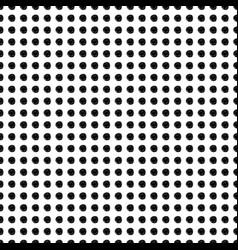 hand drawn polka dot seamless pattern vector image