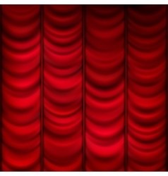 Red curtain background template eps 10 vector