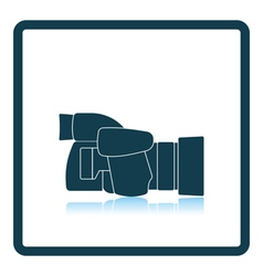 Icon of premium photo camera vector