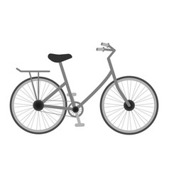 Bicycle for kids isolated on a white background vector