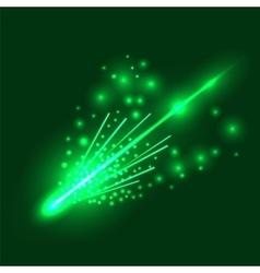 Falling Meteorite vector image