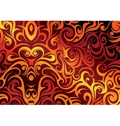 Fire abstraction vector image vector image