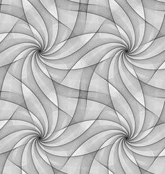 Monochrome seamless fractal veil design pattern vector
