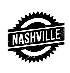 Nashville rubber stamp vector