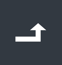 Universal simple arrow vector