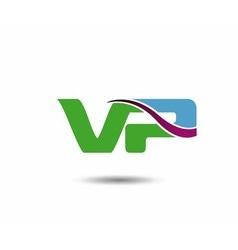 Vp logo vector