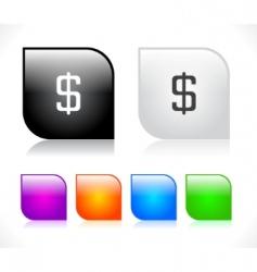 web site menus vector image