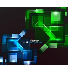 techno abstract background vector image