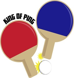 King of ping vector
