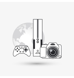 Icon of internet things design vector