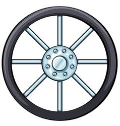 A wheel vector
